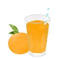 illustration jus orange