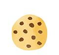 illustration cookie