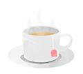illustration thé