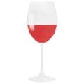 illustration verre de vin