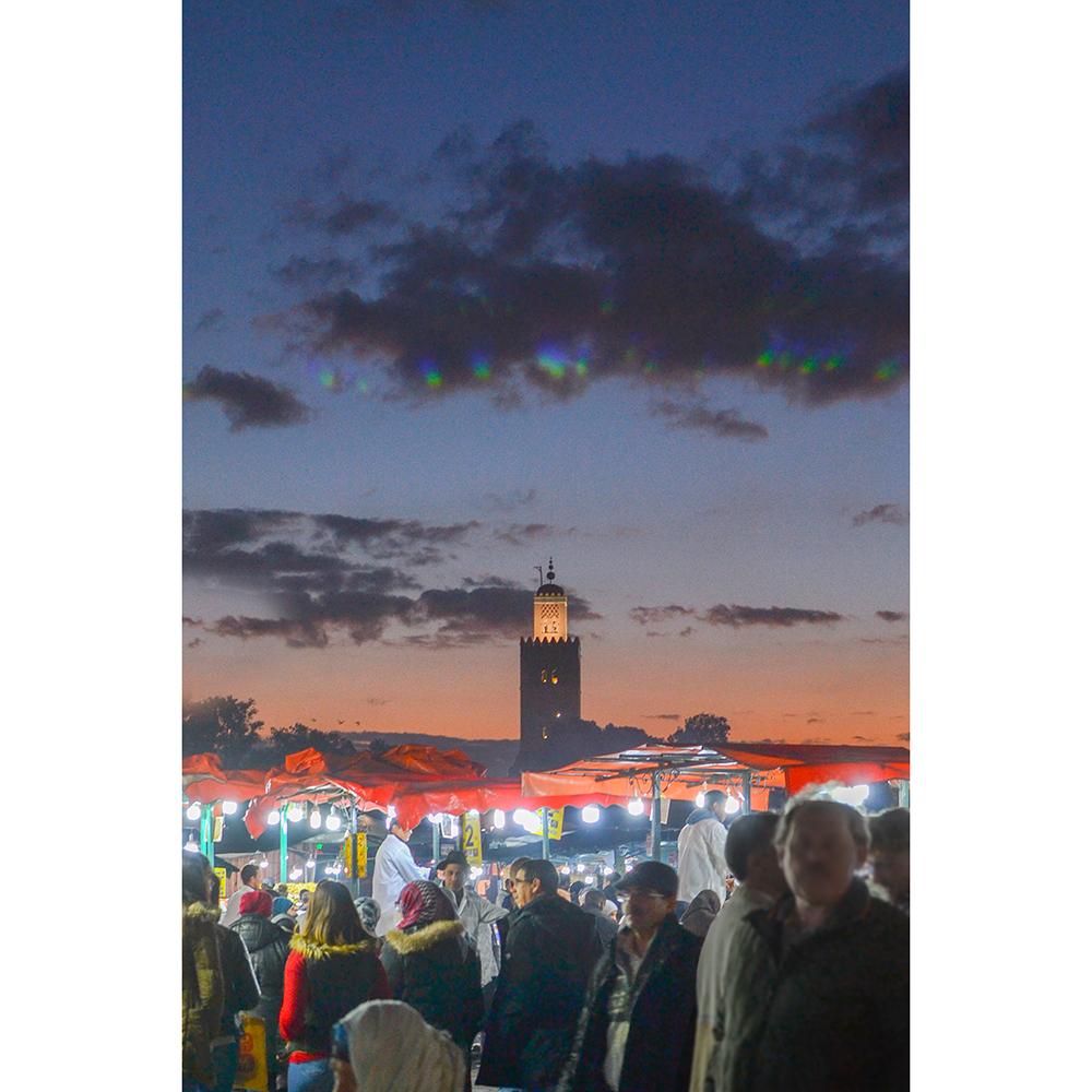 Marrakech place jemaa el-fna