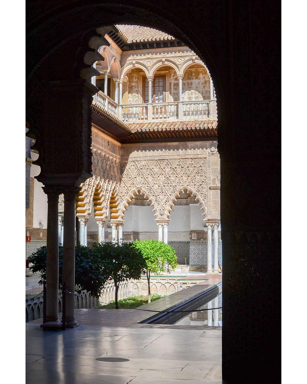 influences arabes du real alcazar