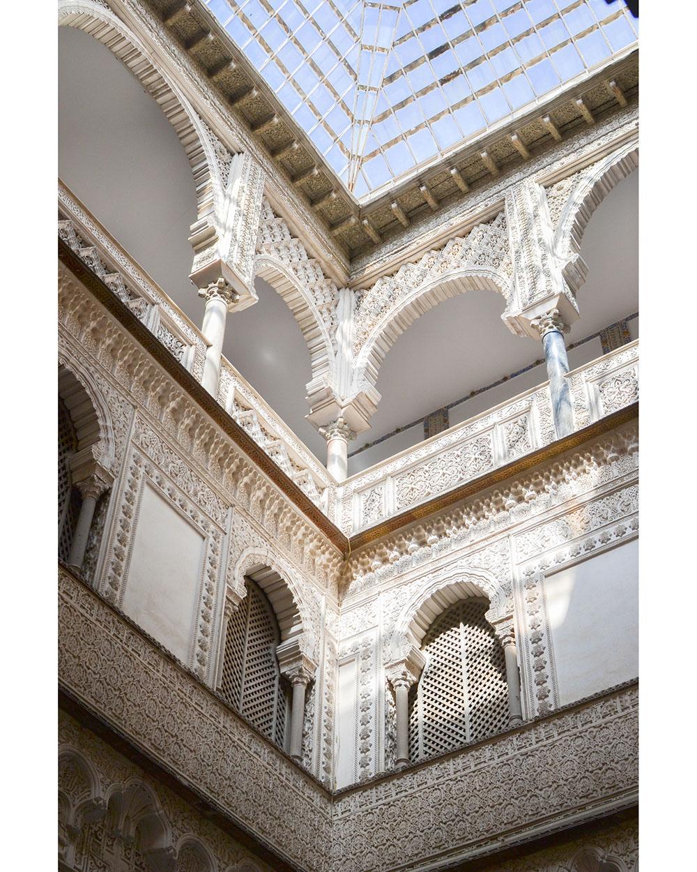 l'architecture du real alcazar