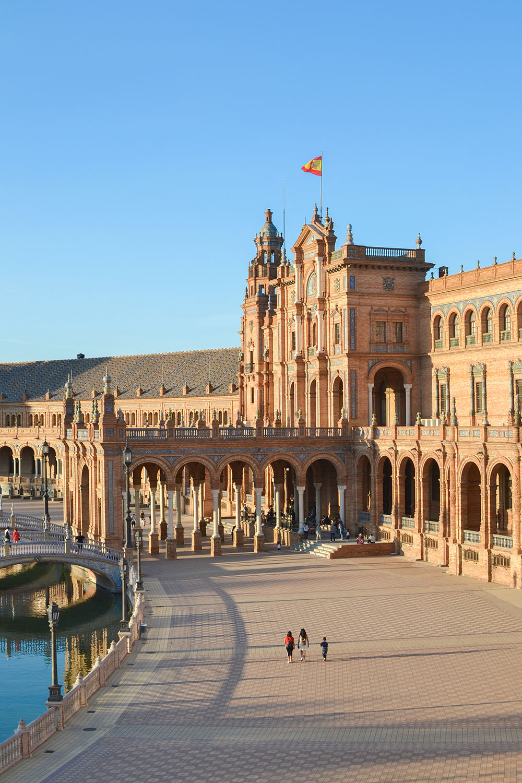 Séville : place d'Espagne
